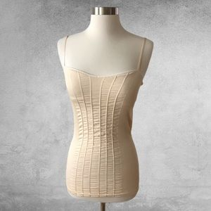 FREE PEOPLE INTIMATELY Seamless Ruched Cami M